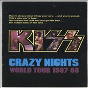 Click here for more info about 'Kiss - Crazy Nights World Tour 1987-88 + Ticket Stub'