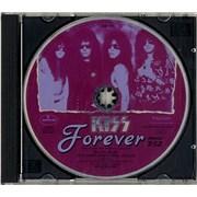 Kiss Forever USA CD single Promo