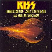 Click here for more info about 'Kiss - Heaven's On Fire'