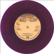 "Kiss Hold Me Touch Me - Purple Vinyl UK 7"" vinyl"