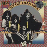 Click here for more info about 'Kiss - Hotter Than Hell - 45th Anniversary - Orange vinyl'