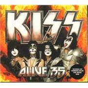 Kiss Kiss Alive 35 - Color Line Arena, Hamburg, Germany Germany 2-CD album set