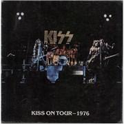 Kiss Kiss On Tour 1976 - EX USA tour programme