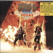 Click here for more info about 'Kiss - Kiss Rocks Vegas + Bonus DVD - Sealed'