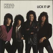 Click here for more info about 'Kiss - Lick It Up'