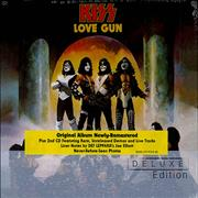 Kiss Love Gun - Deluxe Edition - Sealed UK 2-CD album set