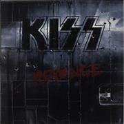 Click here for more info about 'Kiss - Revenge - Black Vinyl - VG'