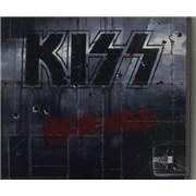 Kiss Revenge Japan CD album Promo