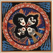 Click here for more info about 'Kiss - Rock And Roll Over + Sticker - Ex'