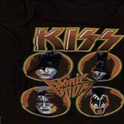 Click here for more info about 'Kiss - Sonic Boom T-Shirt - Black [M]'