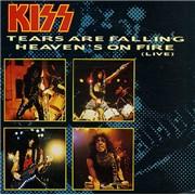 "Kiss Tears Are Falling UK 7"" vinyl"