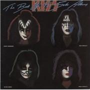 Kiss The Best Of The Solo Albums Australia vinyl LP