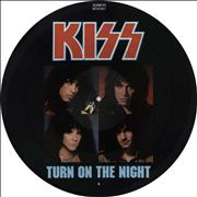 "Kiss Turn On The Night UK 12"" picture disc"