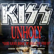 Click here for more info about 'Kiss - Unholy'