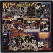 Kiss Unmasked USA vinyl LP