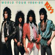 Kiss World Tour 1984-85 UK tour programme