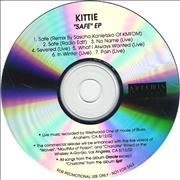 Click here for more info about 'Kittie - Safe EP'