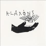 "Klaxons Atlantis To Interzone - Orange Vinyl UK 7"" vinyl"