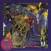 "Klaxons Gravity's Rainbow UK 7"" vinyl"