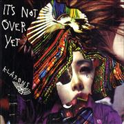 Klaxons It's Not Over Yet UK CD single Promo