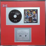 Klaxons Myths Of The Near Future UK award disc