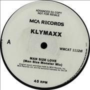 Click here for more info about 'Klymaxx - Man Size Love'