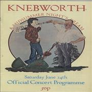 Click here for more info about 'Knebworth - Knebworth - A Midsummer Nights Dream'
