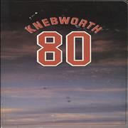 Click here for more info about 'Knebworth - Knebworth 80 - EX'