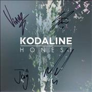 Click here for more info about 'Kodaline - Honest - Fully Autographed'