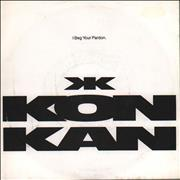 Click here for more info about 'Kon Kan - I Beg Your Pardon - Title sleeve'