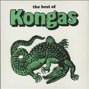 Click here for more info about 'Kongas - The Best Of Kongas - White Vinyl'