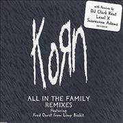 Click here for more info about 'Korn - All In The Family Remixes'