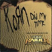 Click here for more info about 'Korn - Did My Time'