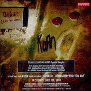 Click here for more info about 'Korn - Oildale (Leave Me Alone)'