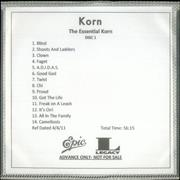 Click here for more info about 'Korn - The Essential Korn'
