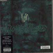 Click here for more info about 'Korn - Thoughtless'