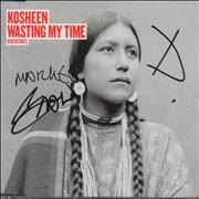 Click here for more info about 'Wasting My Time - CD1 - Autographed'