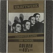 Click here for more info about 'Kraftwerk - Computer Love/the Model - Golden 45's'