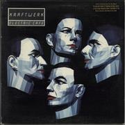Click here for more info about 'Kraftwerk - Electric Cafe - gold promo stamp'