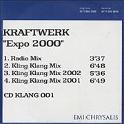 Click here for more info about 'Kraftwerk - Expo 2000'