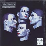 Click here for more info about 'Kraftwerk - Techno Pop - 180gm Clear Vinyl - Opened shrink'