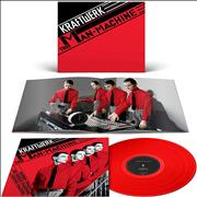 Click here for more info about 'Kraftwerk - The Man Machine - Red Vinyl - Sealed'