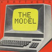 Click here for more info about 'Kraftwerk - The Model - EX'