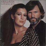 Click here for more info about 'Kris Kristofferson & Rita Coolidge - Natural Act - Sealed'