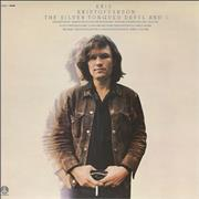 Click here for more info about 'Kris Kristofferson - The Silver Tongued Devil And I'