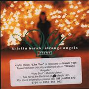 Click here for more info about 'Kristin Hersh - Strange Angels - 3-Track Sampler'
