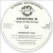 Click here for more info about 'Kristine W - Land Of The Living - Doublepack'