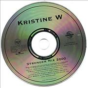 Click here for more info about 'Kristine W - Stronger Mix 2000'