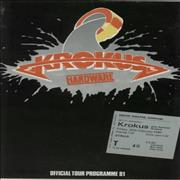 Click here for more info about 'Krokus - Hardware Tour 81 + Ticket Stub'