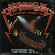 Click here for more info about 'Krokus - Industrial Strength EP + Patch'